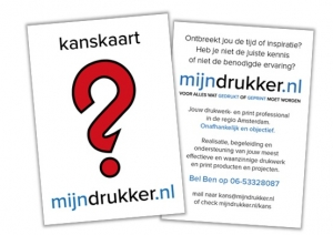 kans kaart mijndrukker.nl