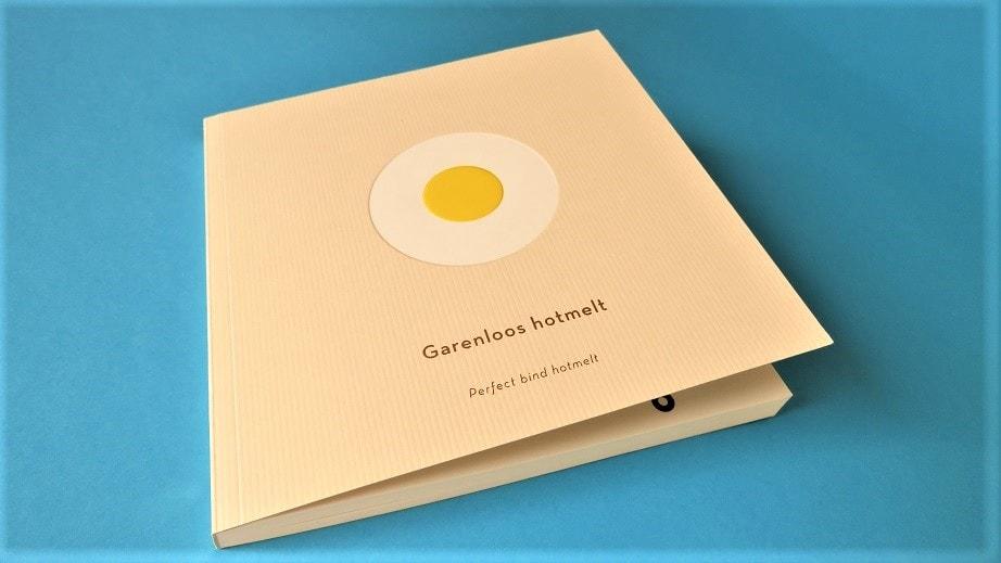 mijndrukker.nl Boek Softcover als Garenloos Hotmelt of Perfect Bind Hotmelt gebonden.