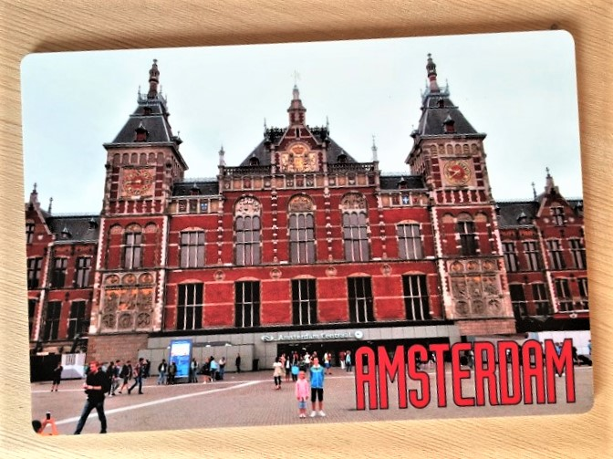 mijndrukker.nl ijskrabber Amsterdam van meest milieuvriendelijk kunststof
