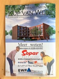 Brochure RTL Appartementen in samenwerking met Pasvan BV, Sopar Makelaars en EWP ingenieurs