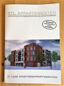 Brochure RTL Appartementen voorzien van digitale zilverfolie