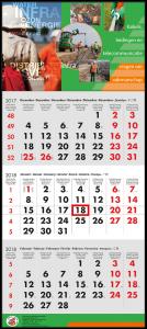 mijndrukker.nl Driemaandskalender Aaneen