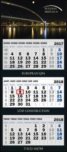 mijndrukker.nl Driemaandskalender Deluxe