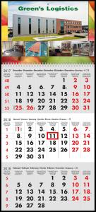 mijndrukker.nl Driemaandskalender Wire-O