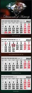 mijndrukker.nl Viermaandskalender Standaard