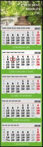 mijndrukker.nl Vijfmaandskalender Standaard