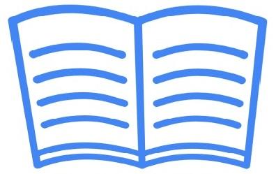 Illustratie van een brochure