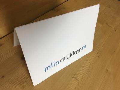 mijndrukker.nl kerstkaart gevouwen