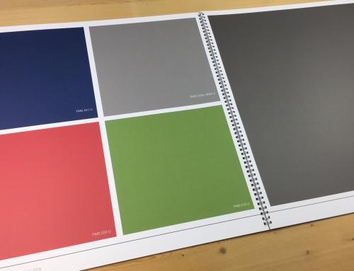 Volvlakken, vlakke- of egale tinten zijn digitaal prima te drukken