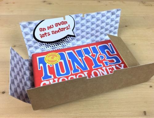Faire verrassing middels een opvallende mailing …