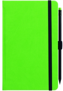 mijndrukker.nl Designer Notebooks Custom Made groen met potlood (7)