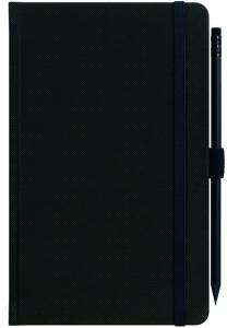 mijndrukker.nl Designer Notebooks Custom Made zwart met potlood (9)