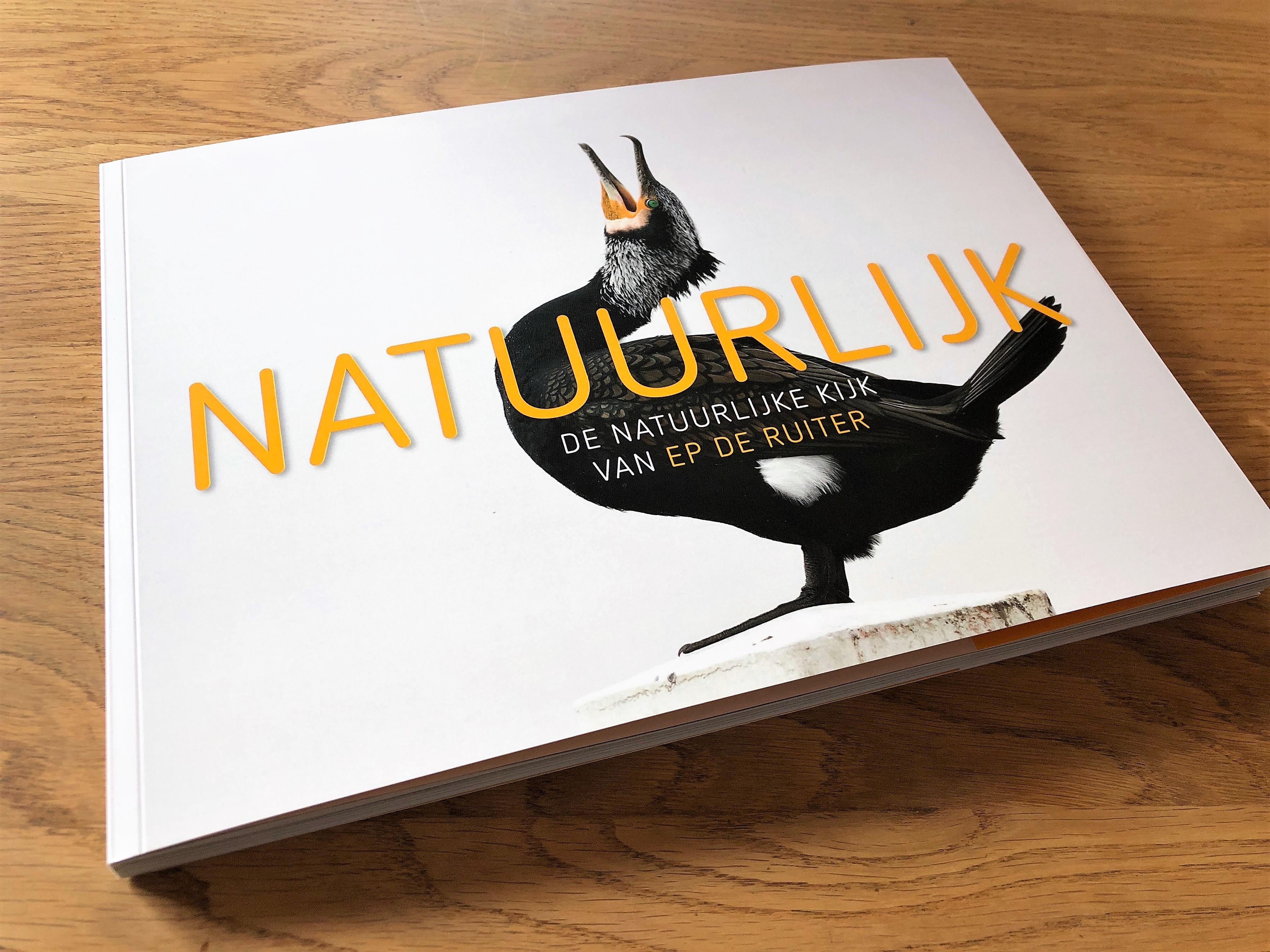 mijndrukker.nl Fotoboek Ep de Ruiter NATUURLIJK cover bij Ronald Boiten Boekprojecten