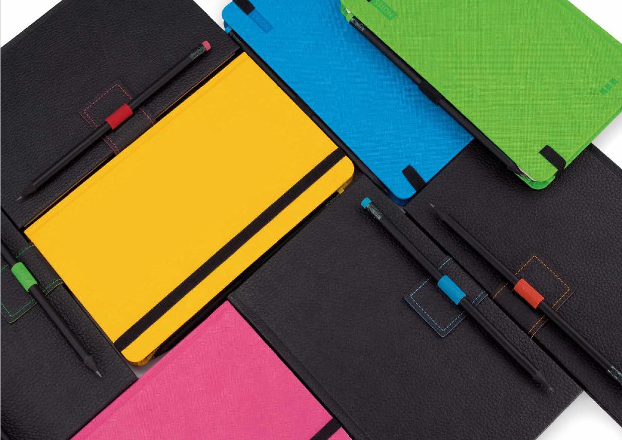 mijndrukker.nl Notitieboekjes Agendas in alle kleuren met bijpassend potlood