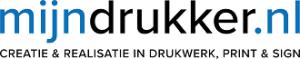 mijndrukker.nl logo creatie & realisatie in drukwerk, print & sign website