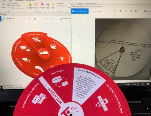 Kartonnen of Papieren Draaischijf maken; vanuit Online Bestaande Identiteit naar Tastbare Realiteit