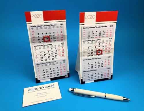 Mini 3-Maands en 4 -Maands Bureaukalendertjes