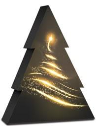mijndrukker.nl Bijzondere Kerst Wijndoos Verpakking Goud Bedrukt