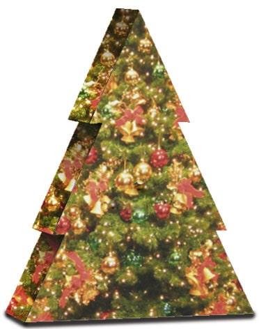 mijndrukker.nl Bijzondere Kerst Wijndoos Verpakking Kerstboom Bedrukt