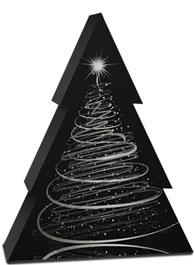 mijndrukker.nl Bijzondere Kerst Wijndoos Verpakking Zilver Bedrukt