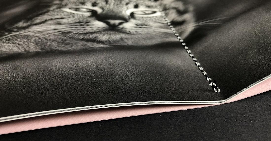 mijndrukker.nl - Vali Myers - Luxe Foto Box met Cahiers - Marco Bakker Fotografie - Zwart Garen Singersteek