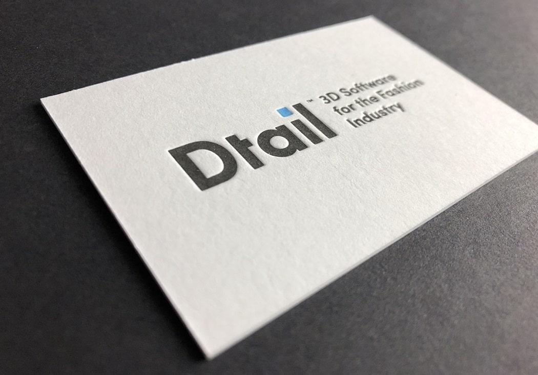 mijndrukker.nl - Letterpress Visitekaartjes Dtail voor ape to zebra