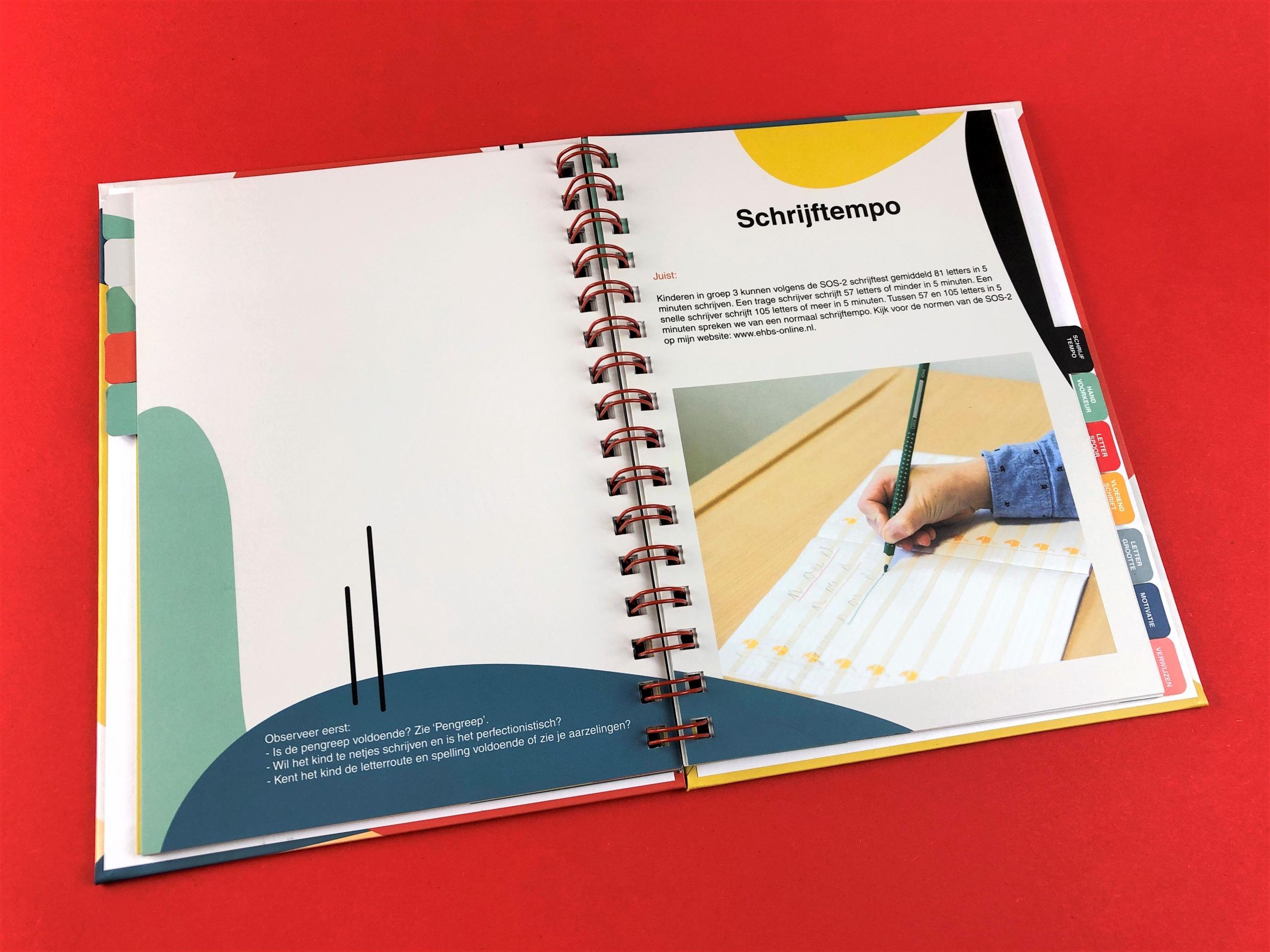 mijndrukker.nl - Hardcover Wire-O, 'Eerste Hulp Bij Schrijfproblemen' - Schrijftempo