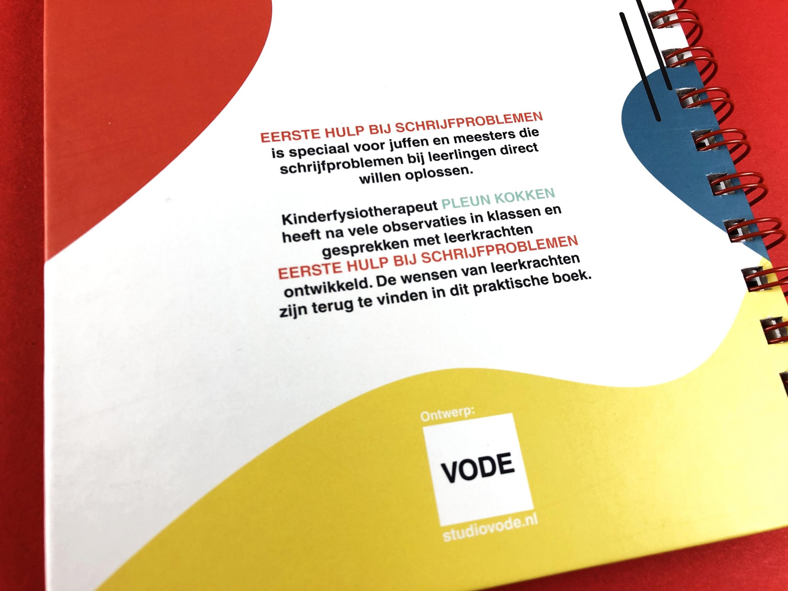 mijndrukker.nl - Hardcover Wire-O, 'Eerste Hulp Bij Schrijfproblemen' - Pleun Kokken