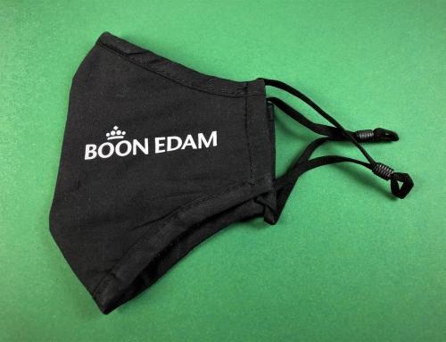 Zachte 100% katoenen mondkapjes voor Boon Edam